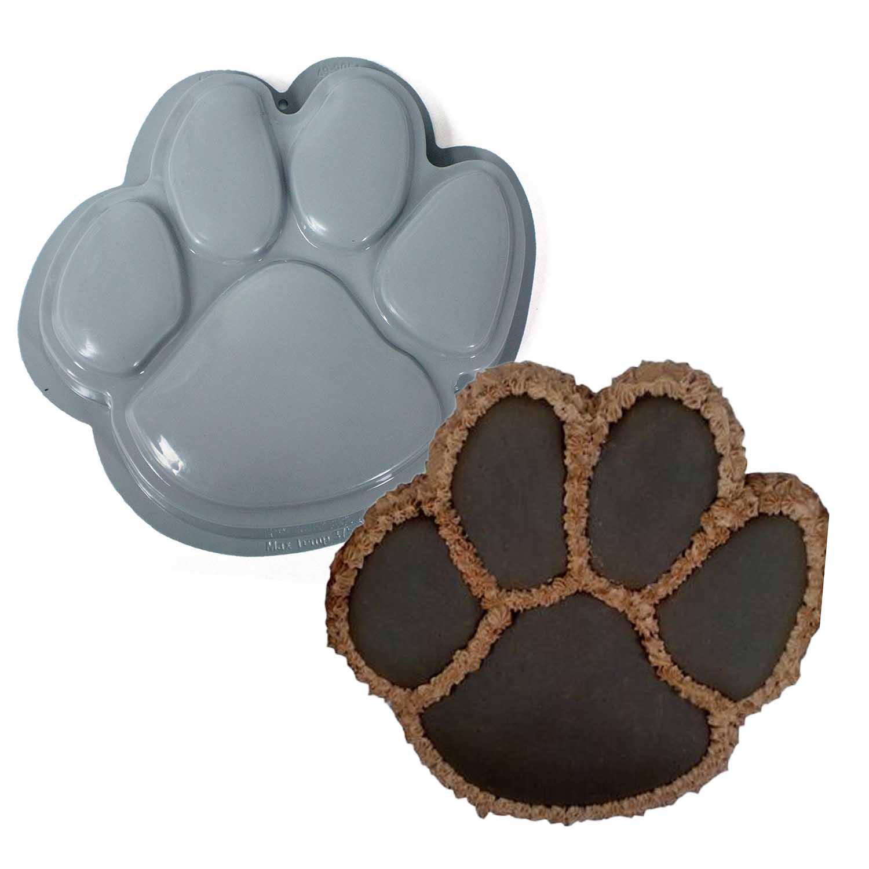 Dog Paw Pantastic Plastic Cake Pan