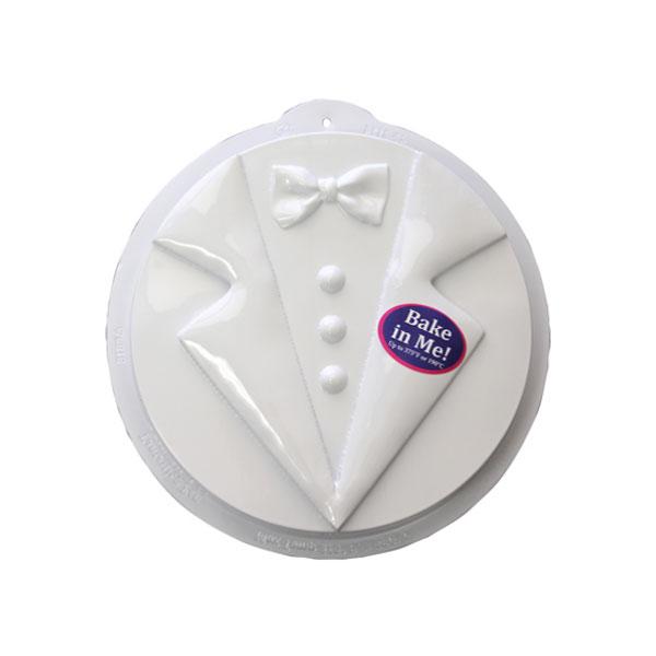 Tuxedo Pantastic Plastic Cake Pan