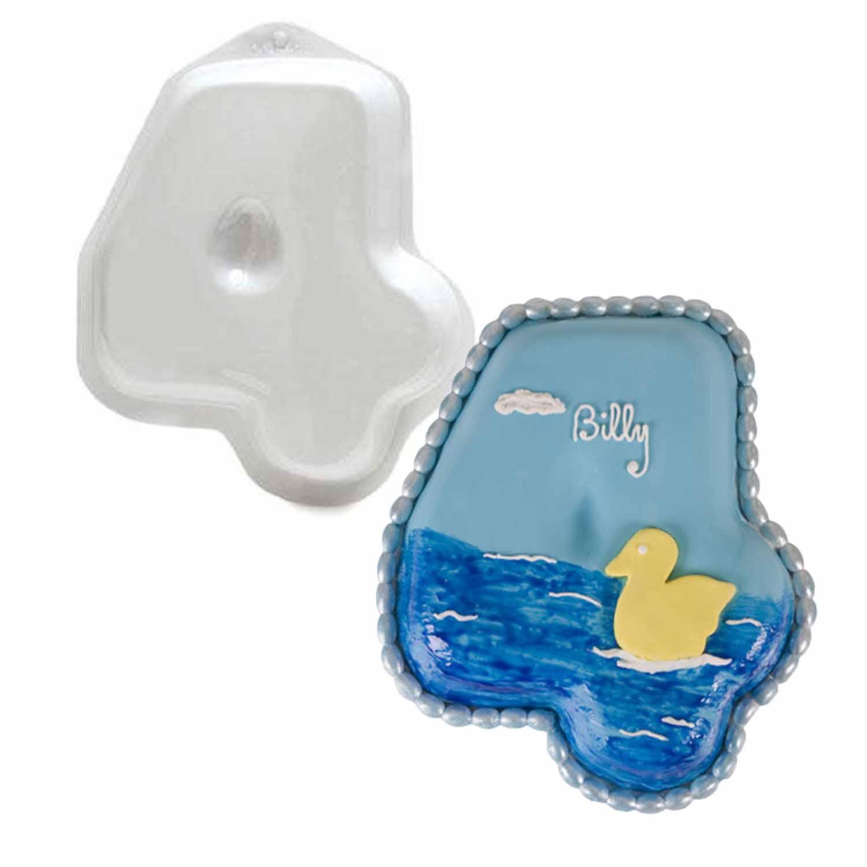 Micro-Size #4 Pantastic Plastic Cake Pan