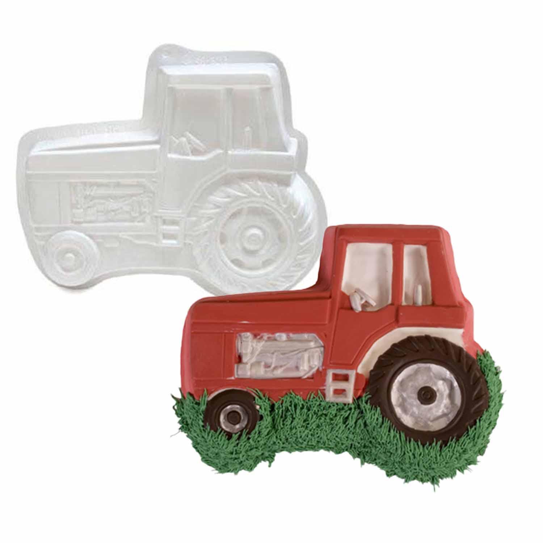 Tractor Pantastic Plastic Cake Pan