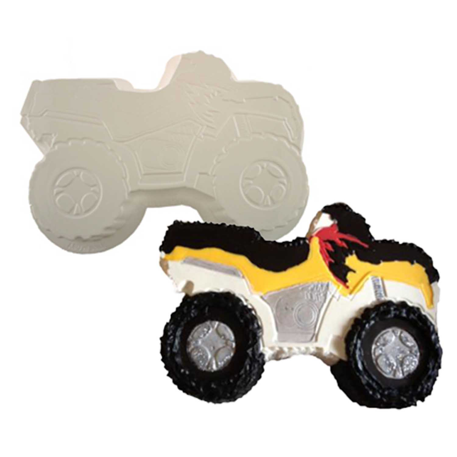 Four Wheeler Pantastic Plastic Cake Pan