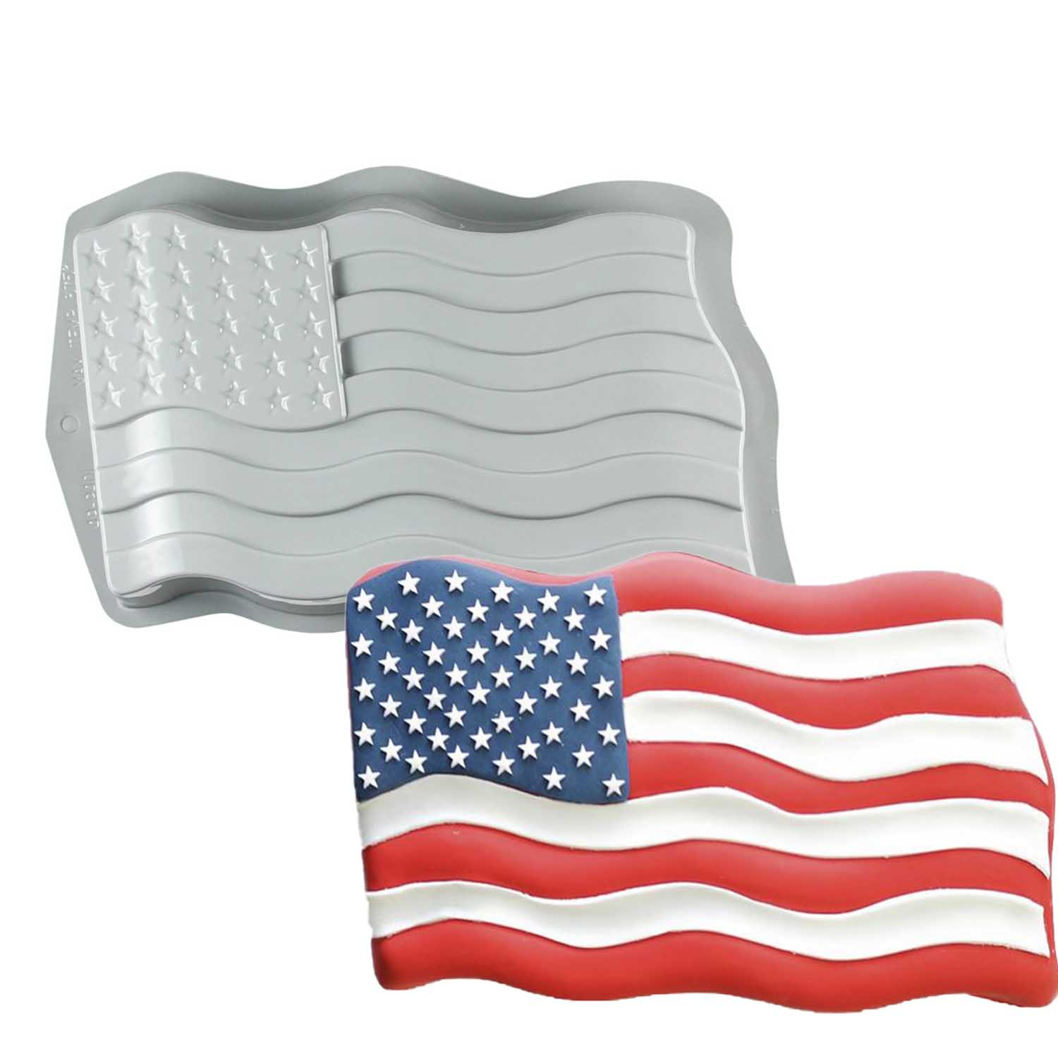 Patriotic Cake Pans and Bakeware