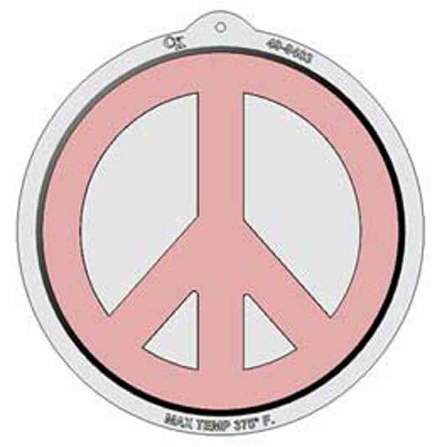Peace Sign Pantastic Plastic Cake Pan