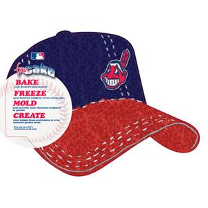 MLB Cleveland Indians Pantastic Plastic Cake Pan