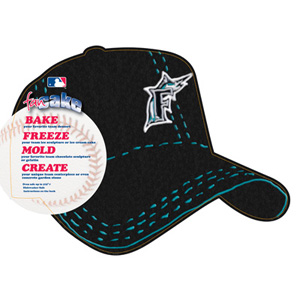MLB Florida Marlins Pantastic Plastic Cake Pan