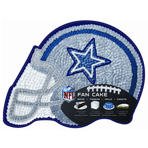 NFL Dallas Cowboys Pantastic Plastic Cake Pan 49 NFL09