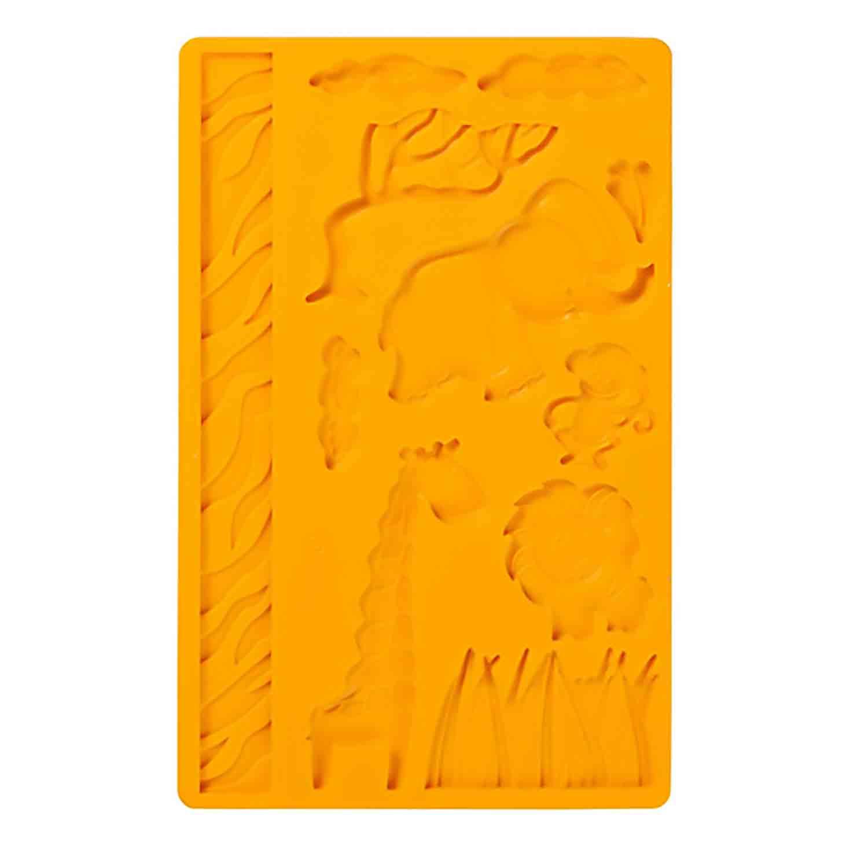 Jungle Animals Silicone Mold