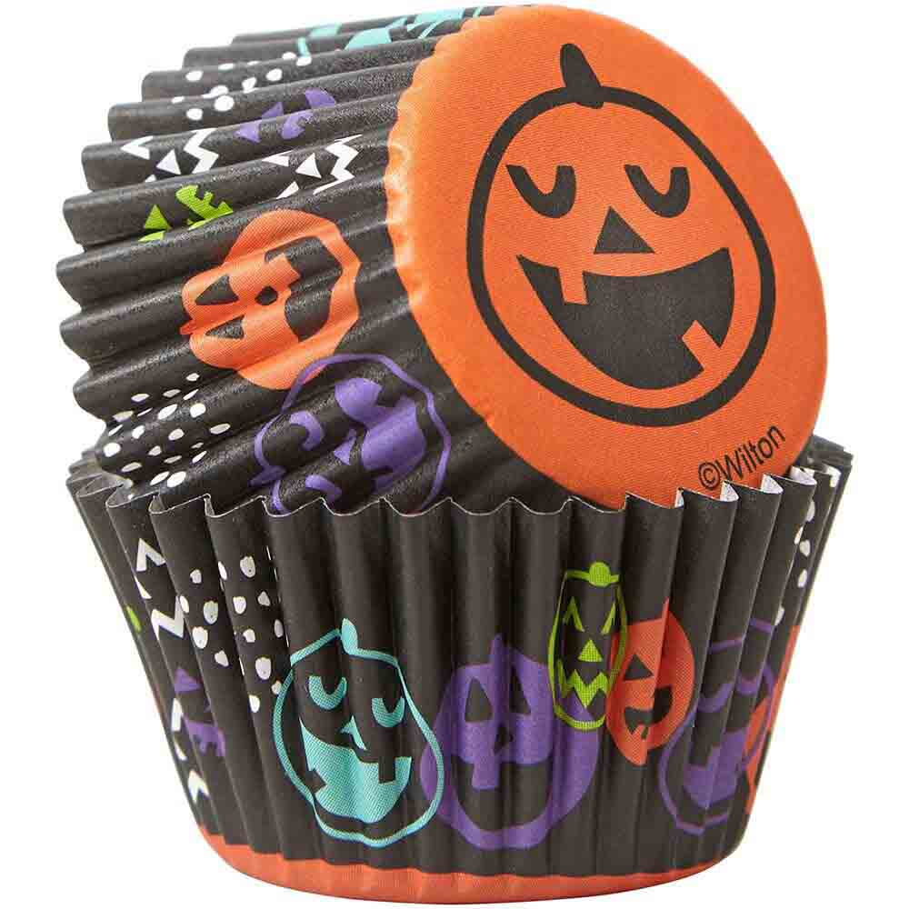 Pumpkin Mini Baking Cups