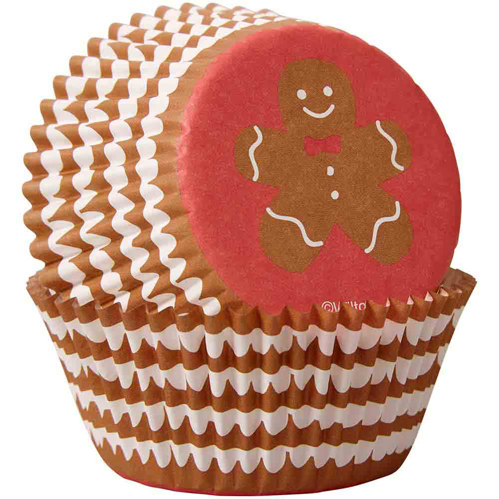 Gingerbread Boy Standard Baking Cups
