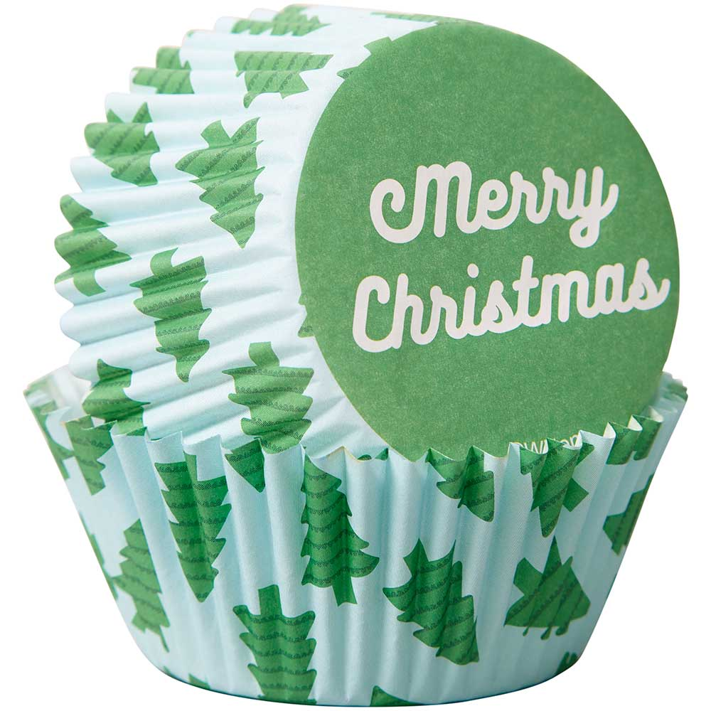 Merry Christmas Standard Baking Cups