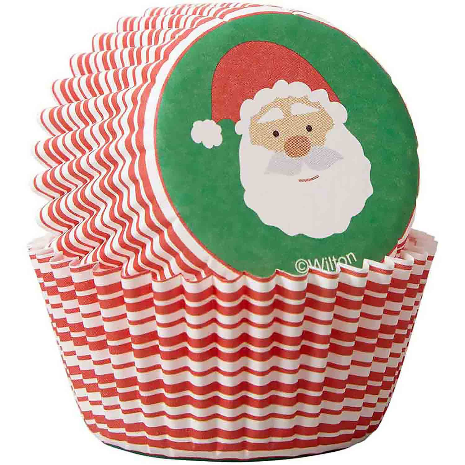 Santa Claus Mini Baking Cups