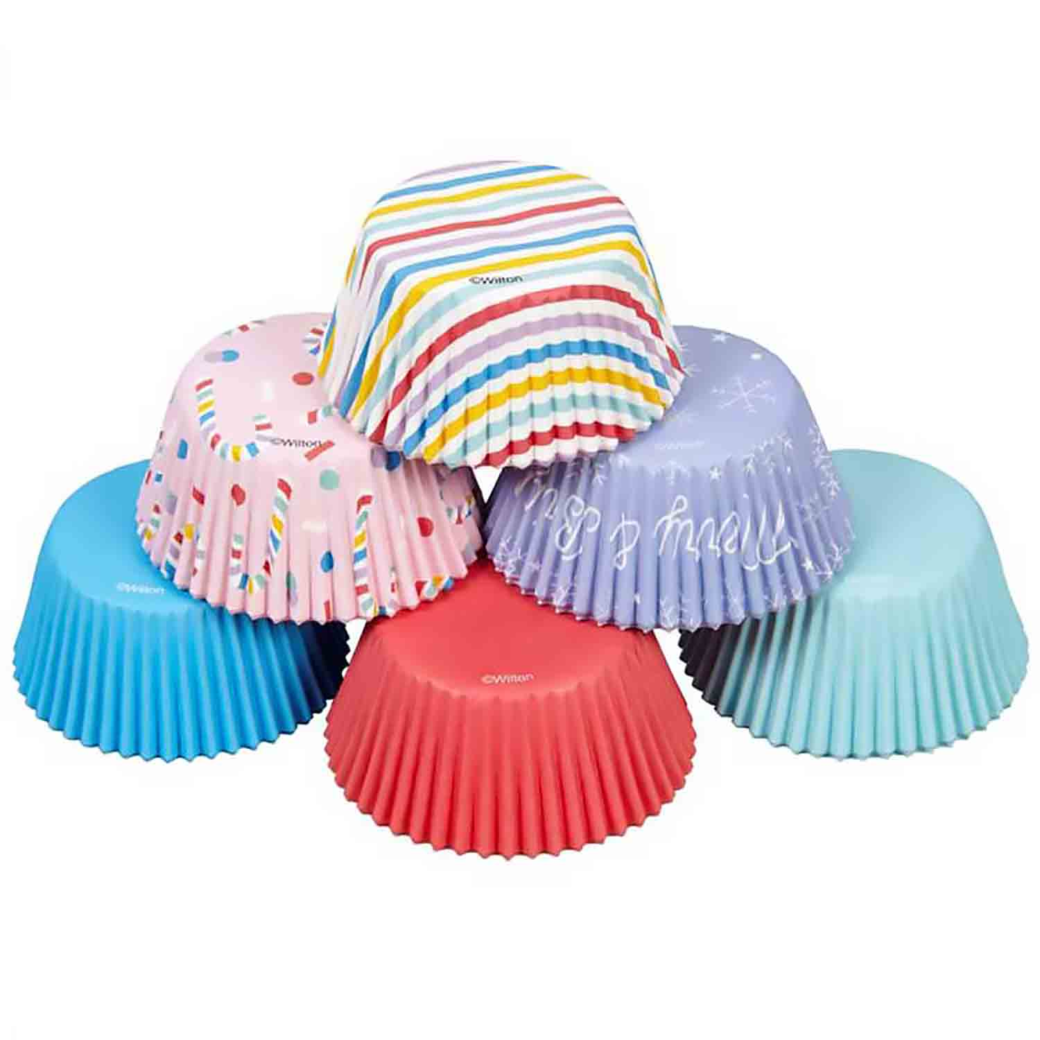 Candy Holiday Assortment Standard Baking Cups