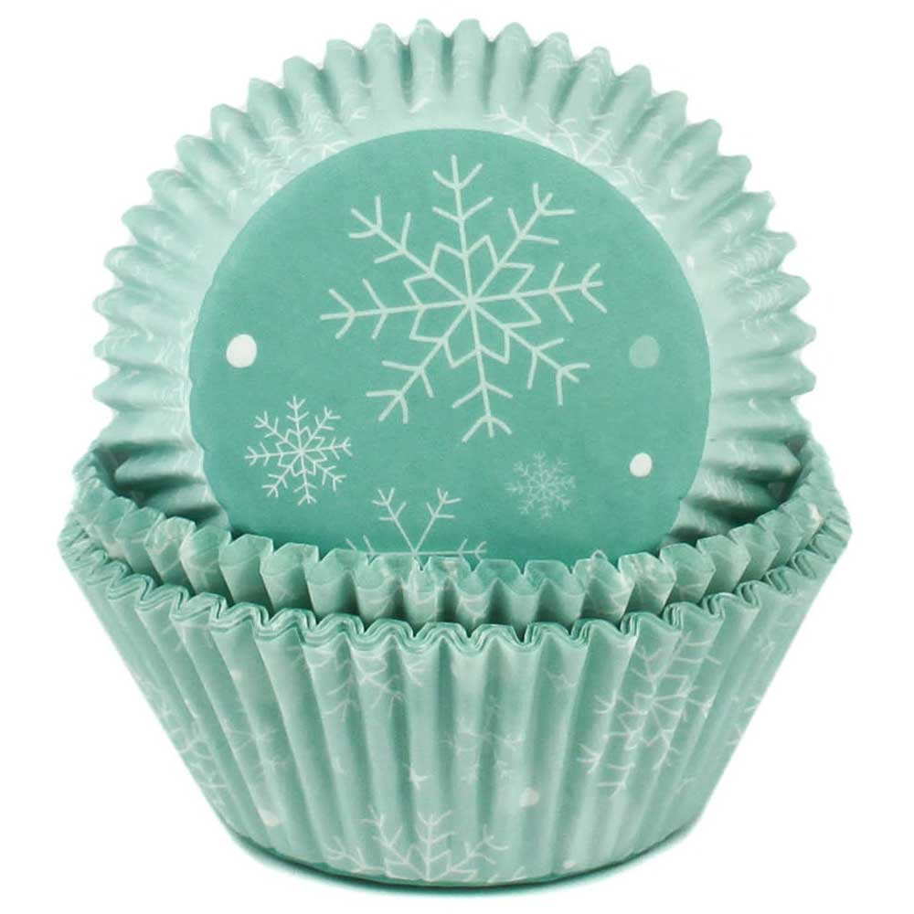 Snowflake Standard Baking Cups