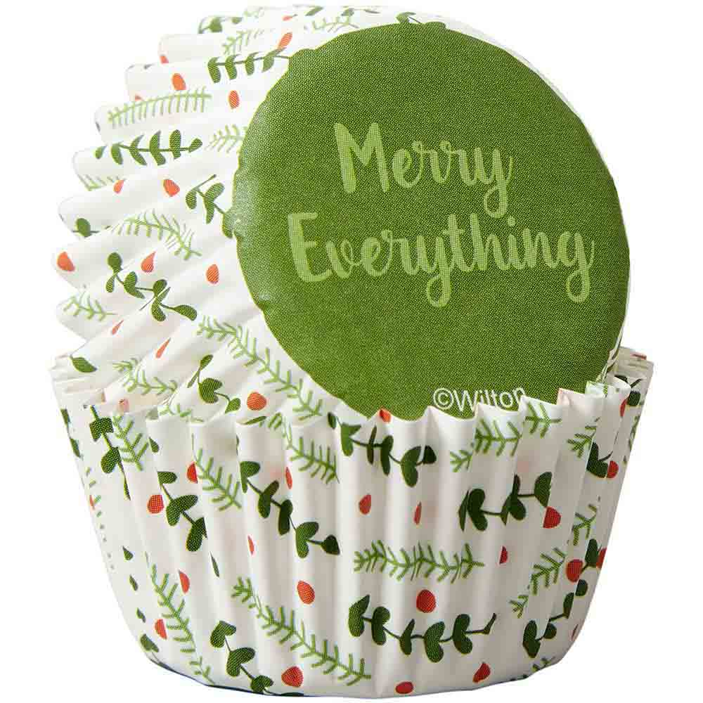 Merry Everything Mini Baking Cups