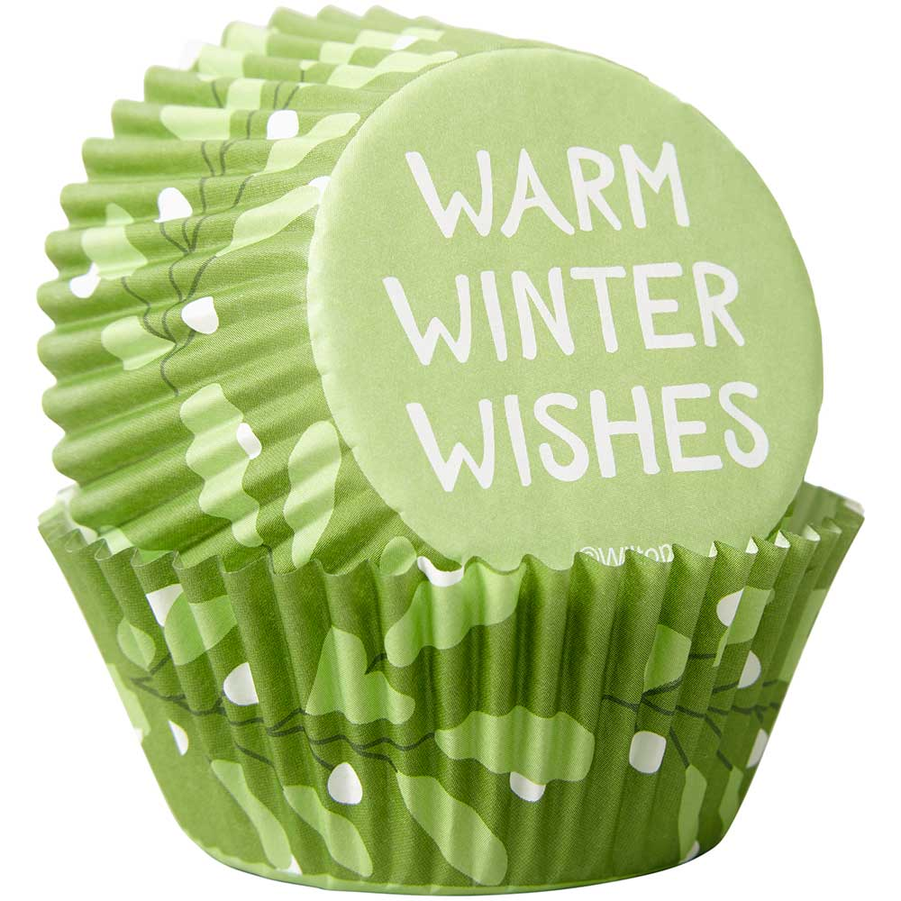 Warm Winter Wishes Standard Baking Cups