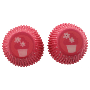 Pink Party Mini Baking Cups