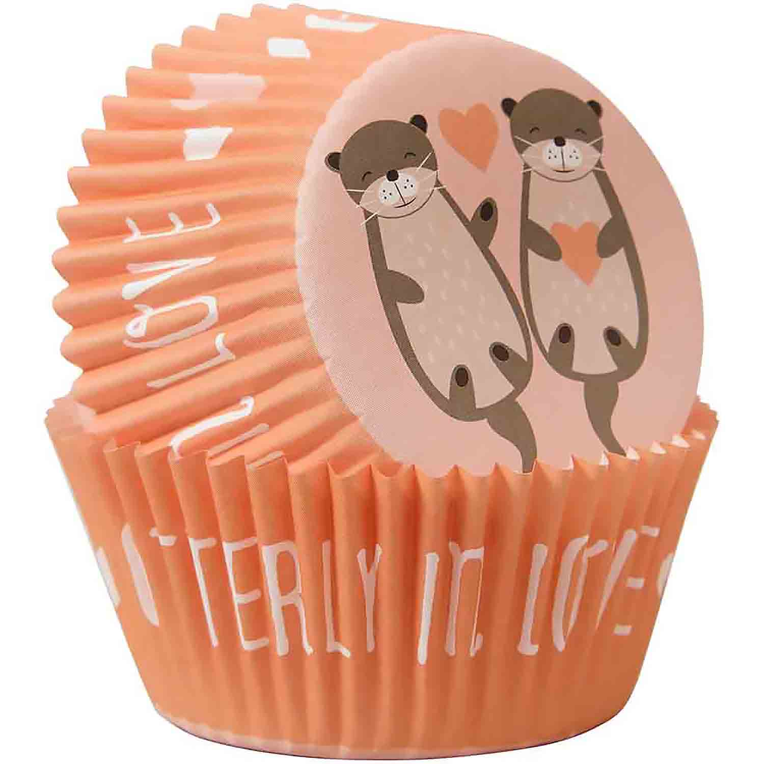 Otterly In Love Standard Baking Cups