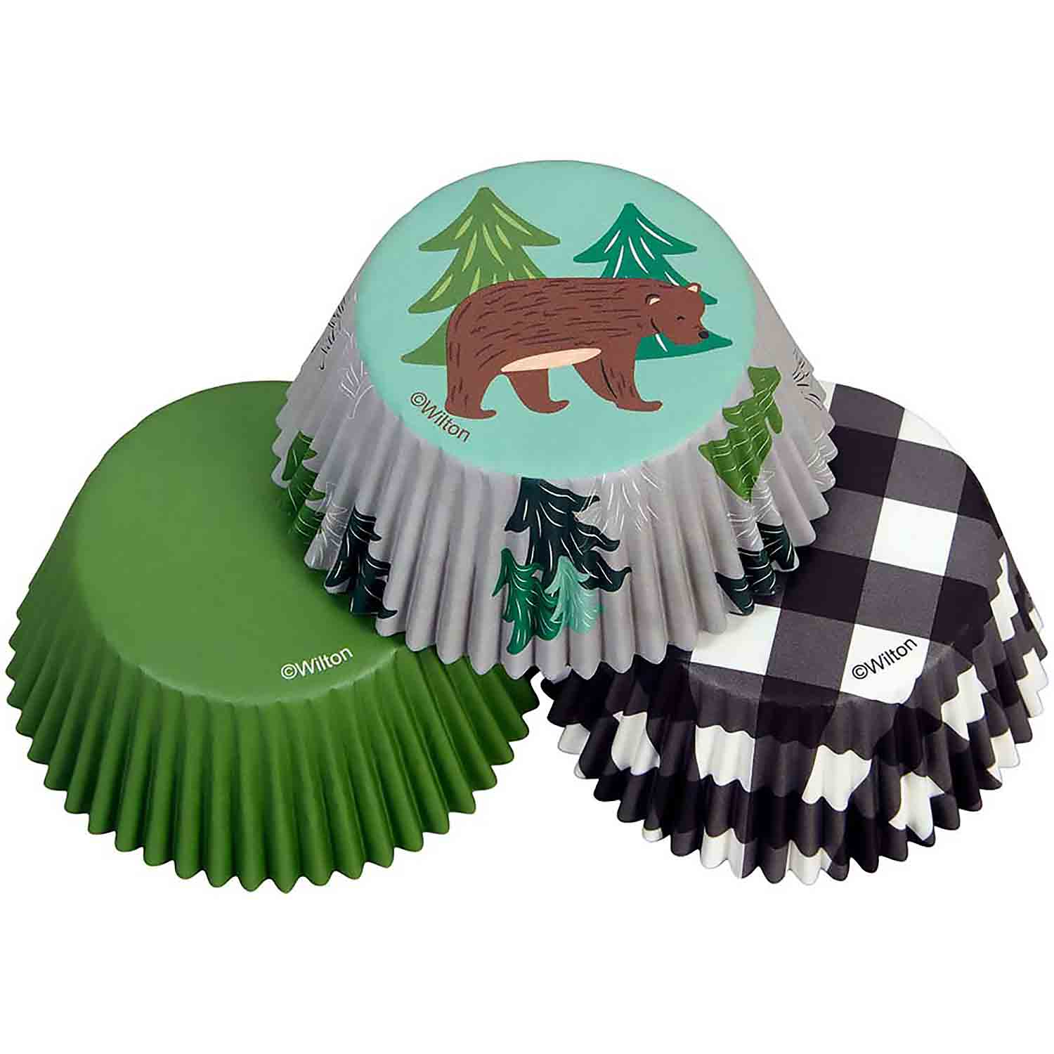 Bear Tree Standard Baking Cups
