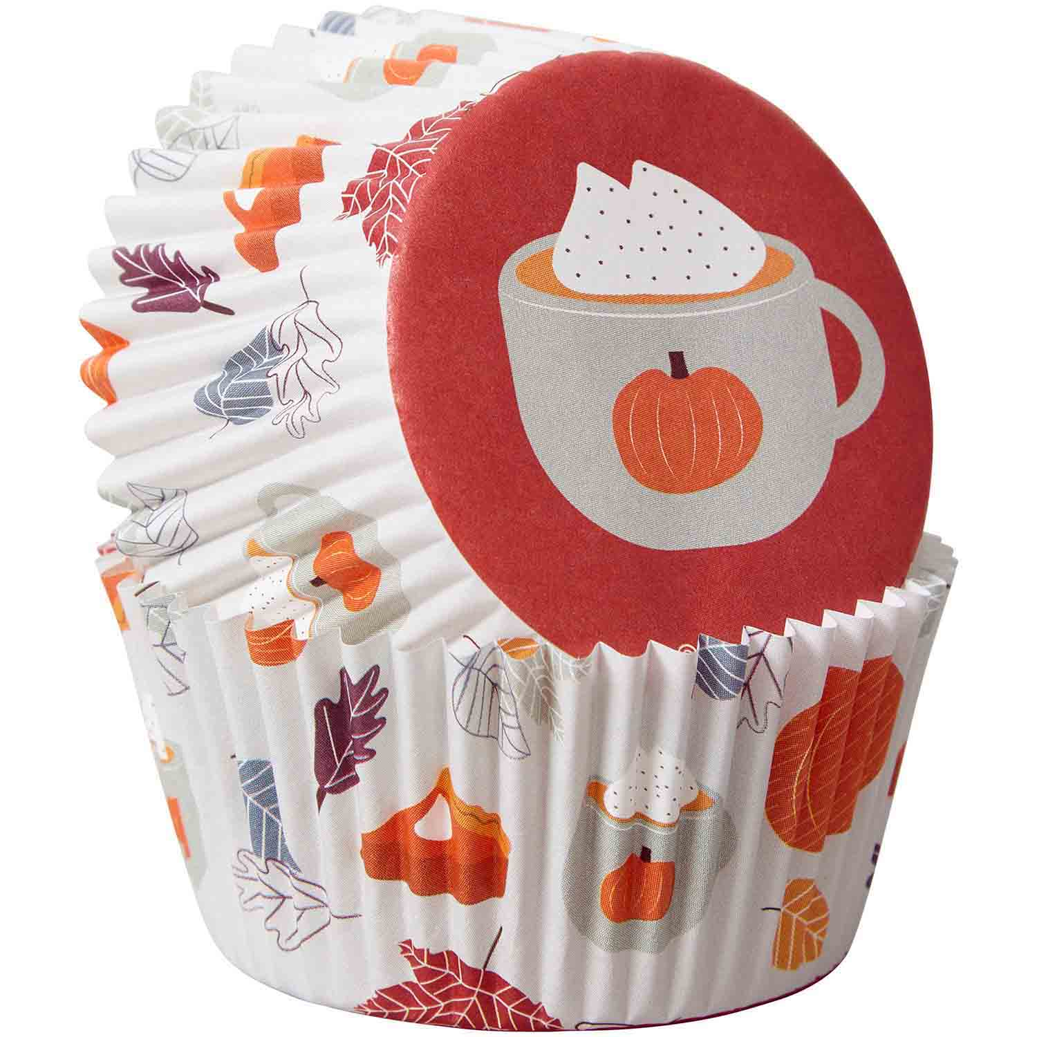 Welcome Fall Standard Baking Cups