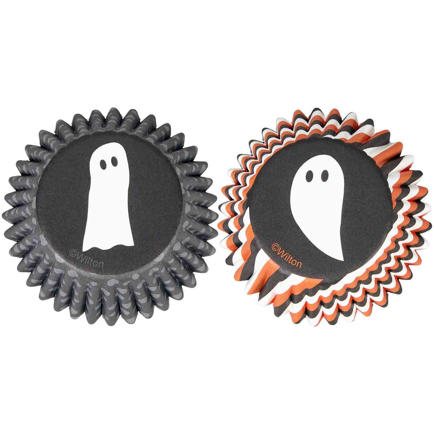Ghosts Mini Baking Cups