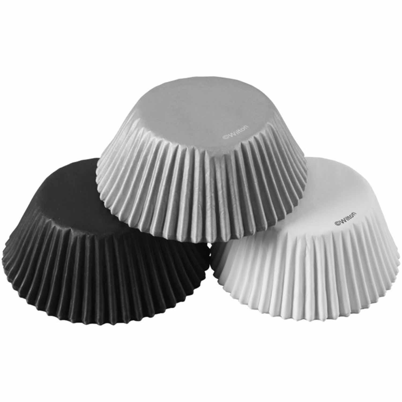 Silver/White/Black Standard Baking Cups