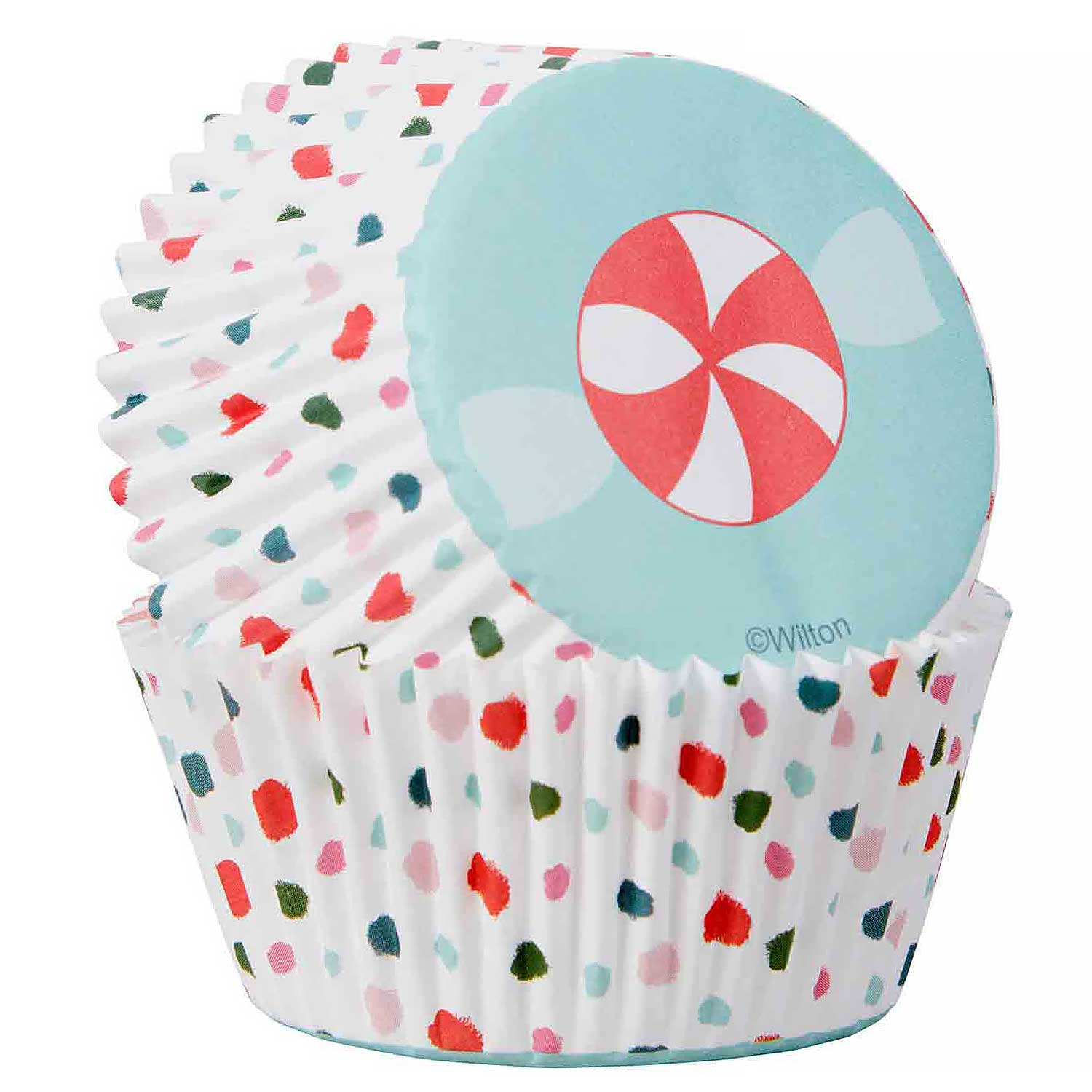 Candy Swirl Standard Baking Cups