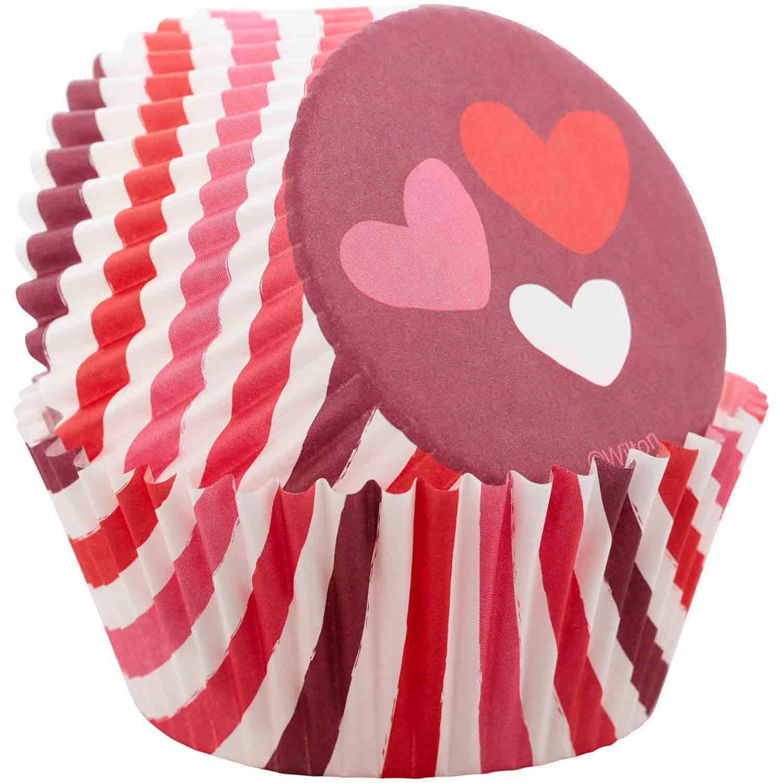 Valentine Hearts Standard Baking Cups