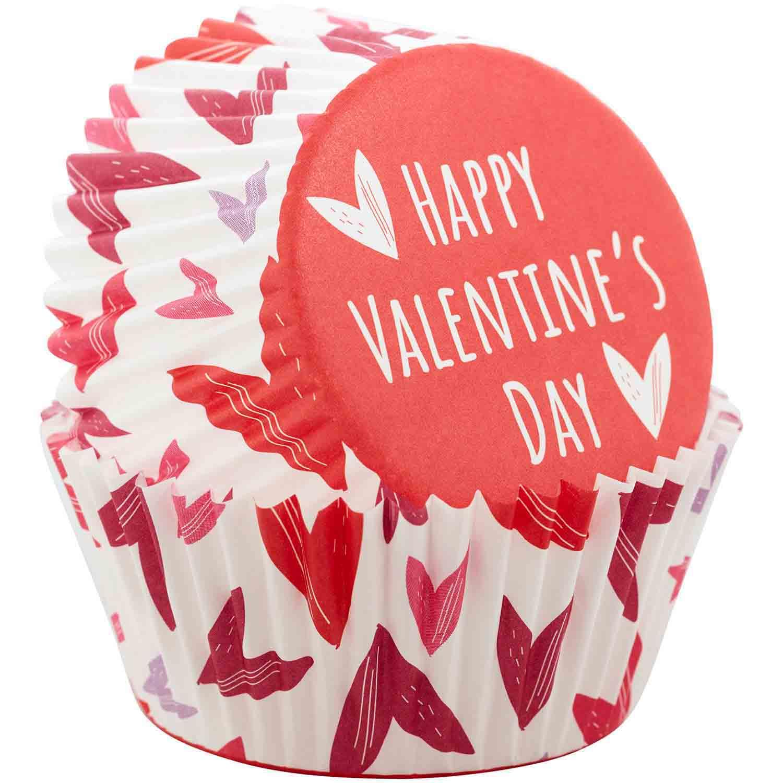 Happy Valentine's Day Standard Baking Cups