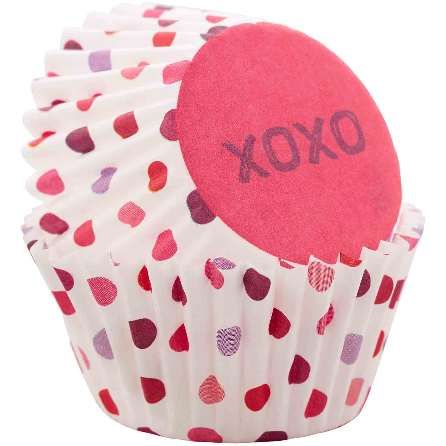 XOXO Mini Baking Cups