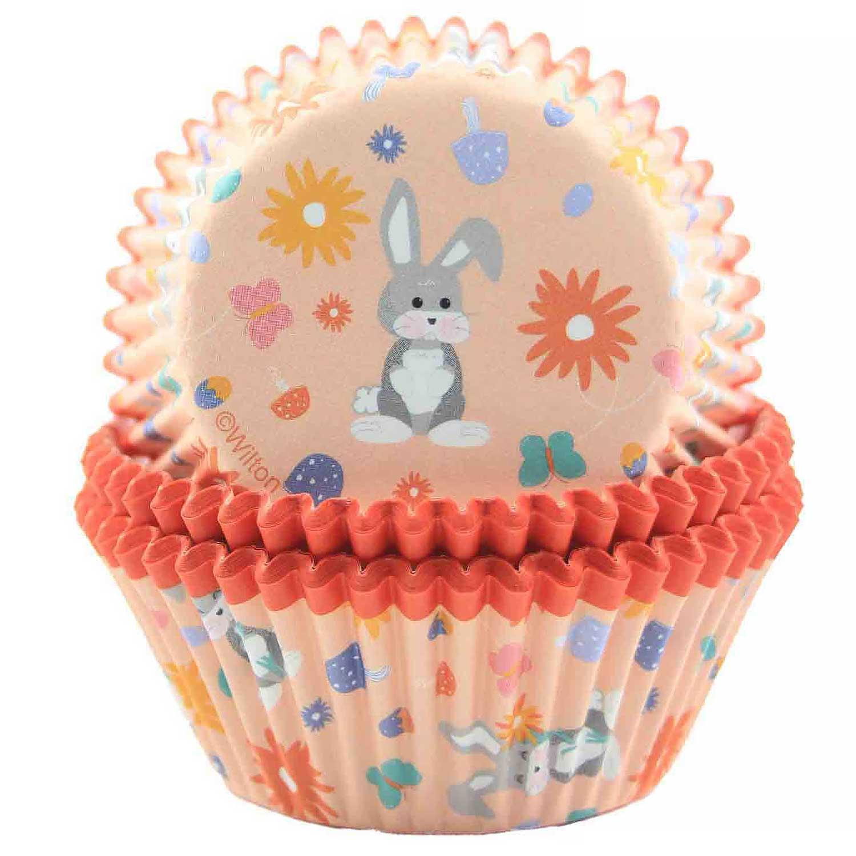 Bunny Scene Standard Baking Cups