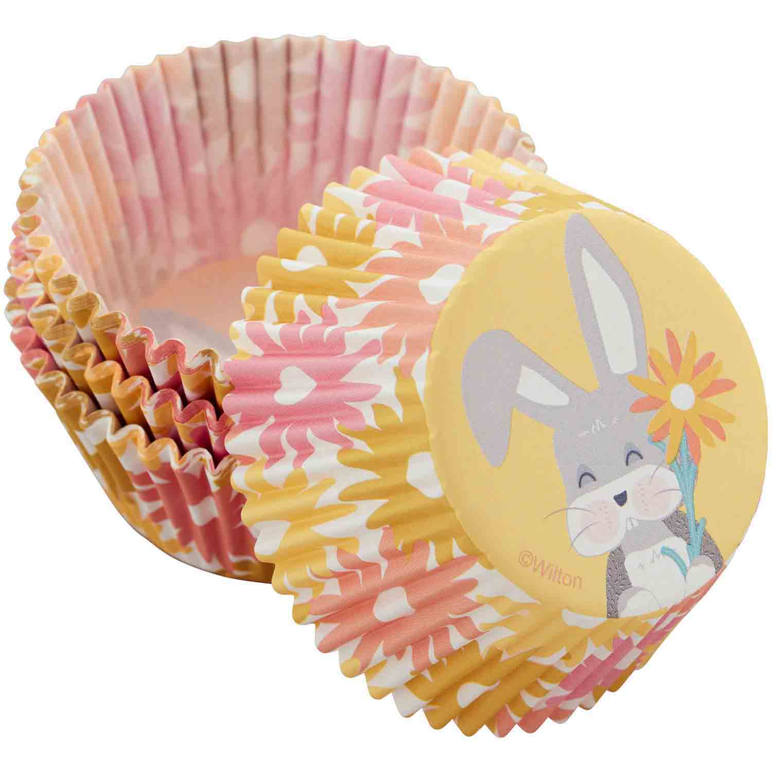 Bunny With Flower Standard Baking Cups