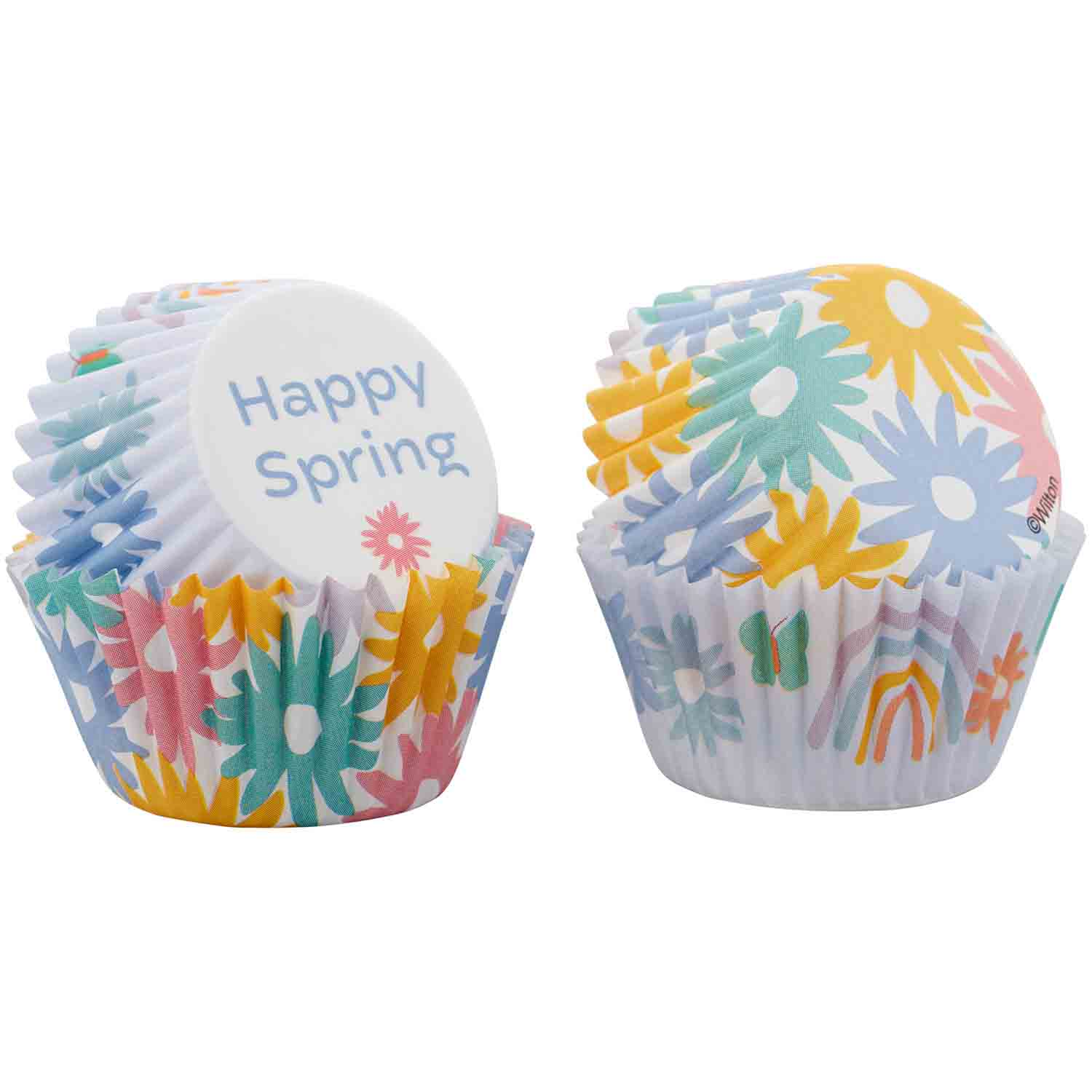 Happy Spring Mini Baking Cups