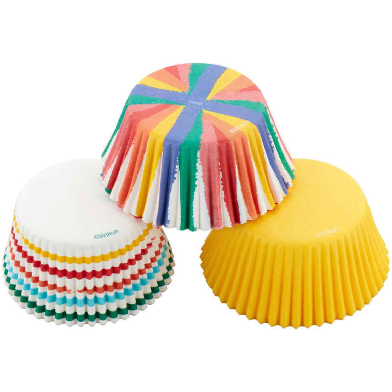 Rainbow Mix Standard Baking Cups