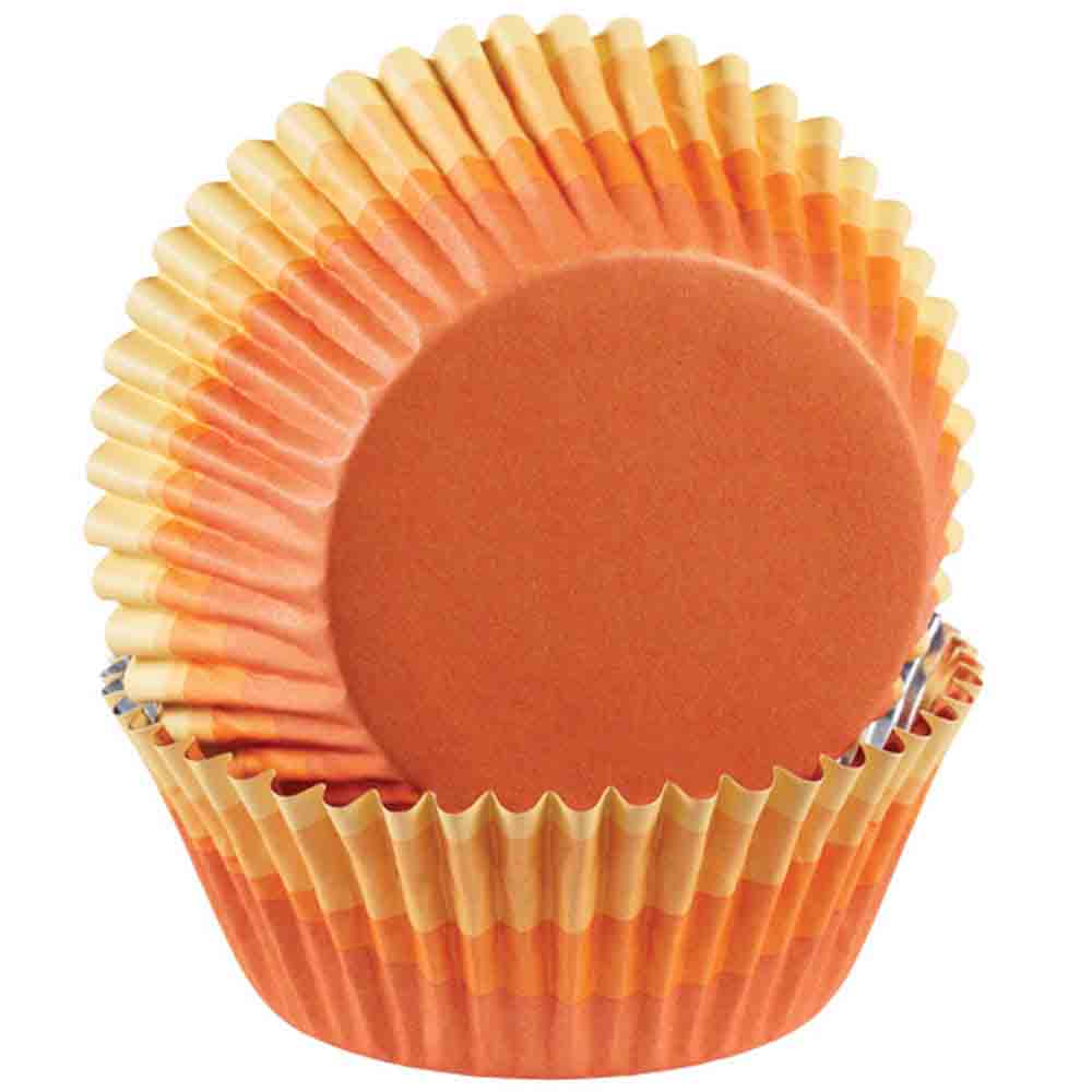 Orange Ombre Standard Baking Cups