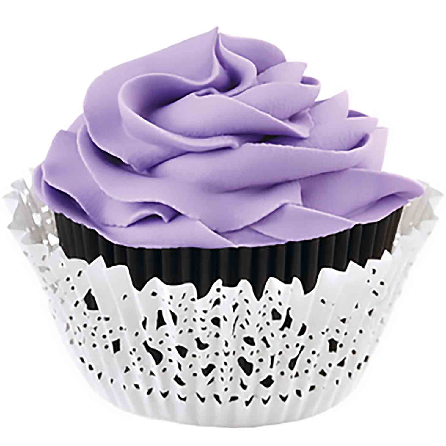 Black Doily Standard Baking Cup Kit