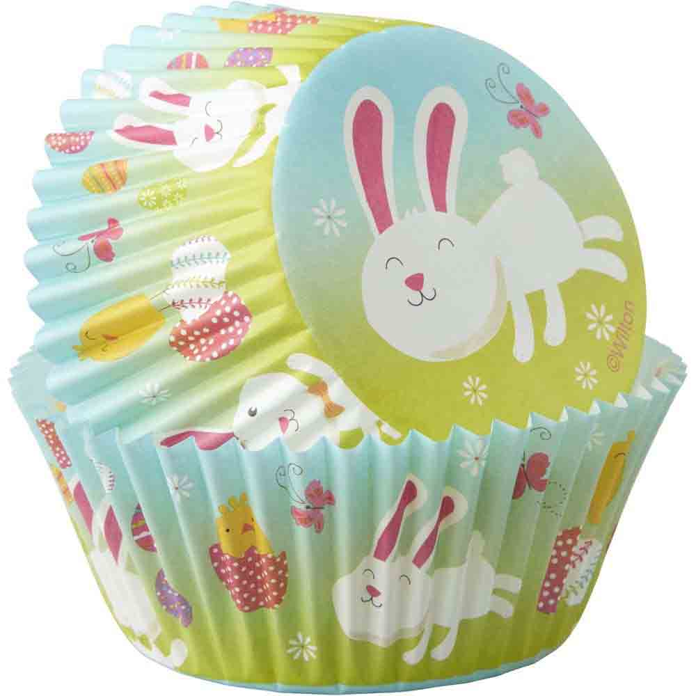 Easter Bunny Standard Baking Cups