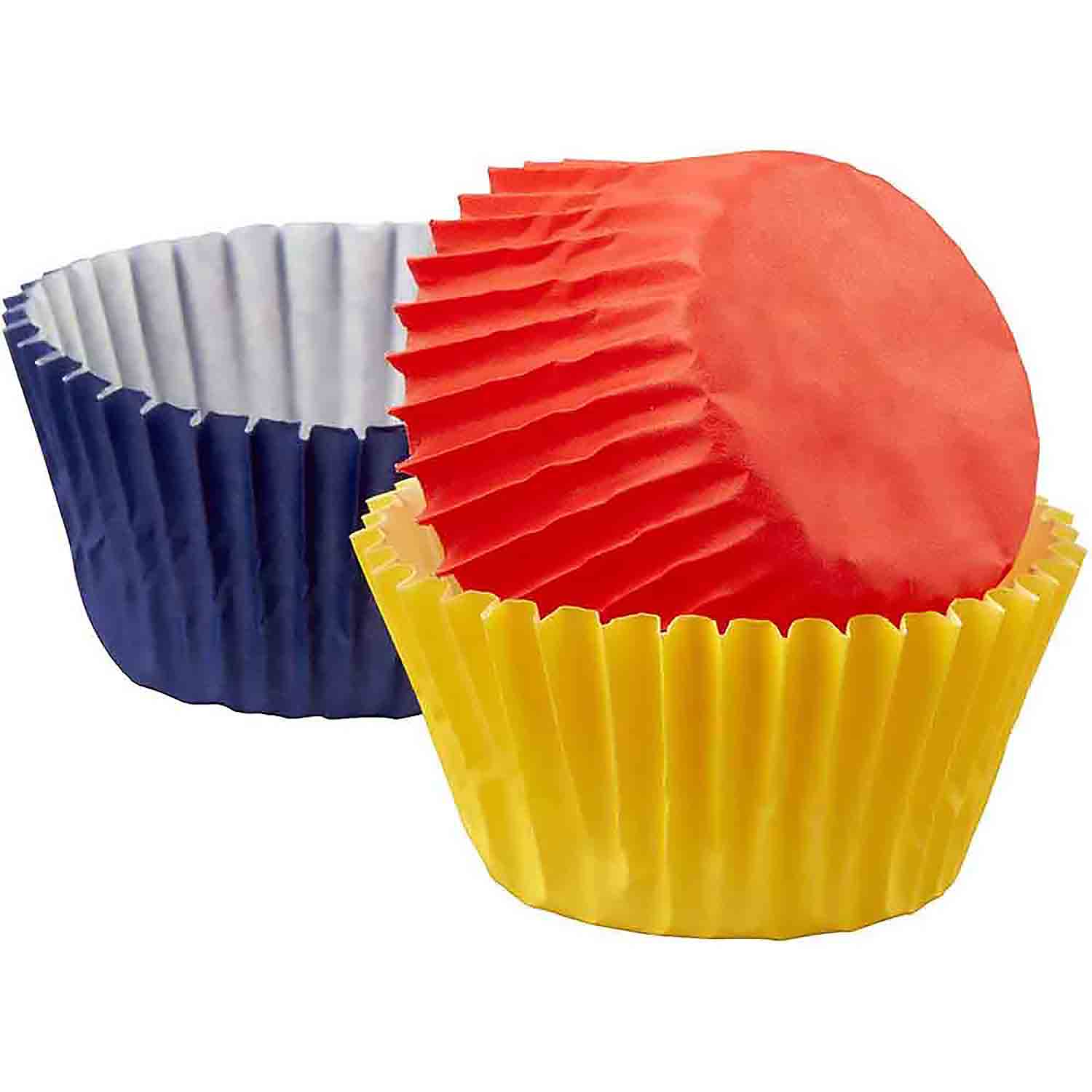 Primary Colors Mini Baking Cups
