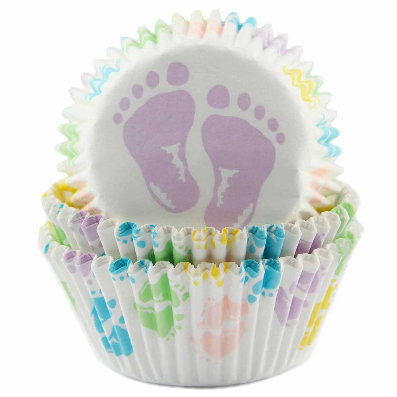 Baby Feet Standard Baking Cups