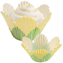 Yellow Flower Standard Baking Cups