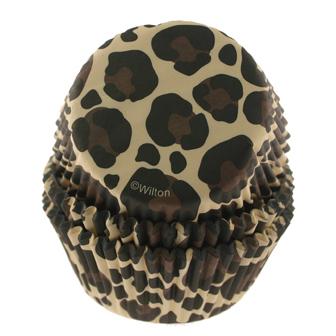 Leopard Standard Baking Cups