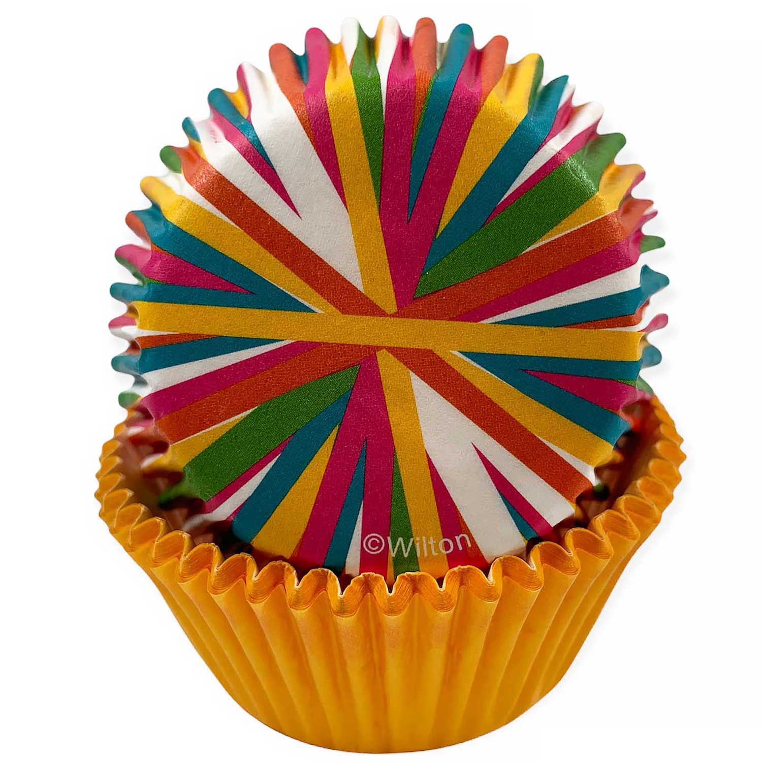 Color Wheel Standard Baking Cups
