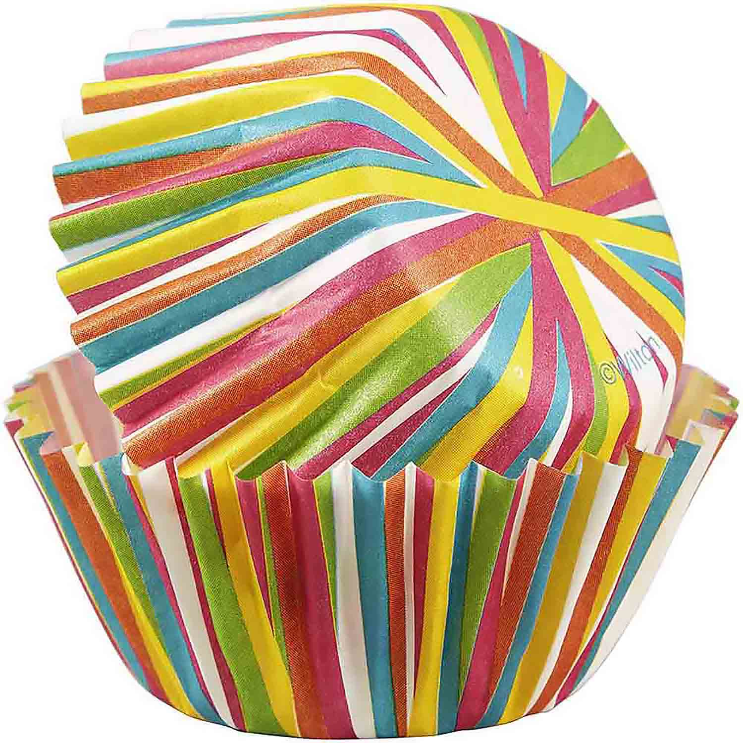 Color Wheel Mini Baking Cups