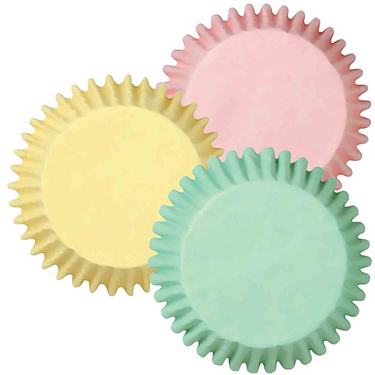Pastel Colors Mini Baking Cups