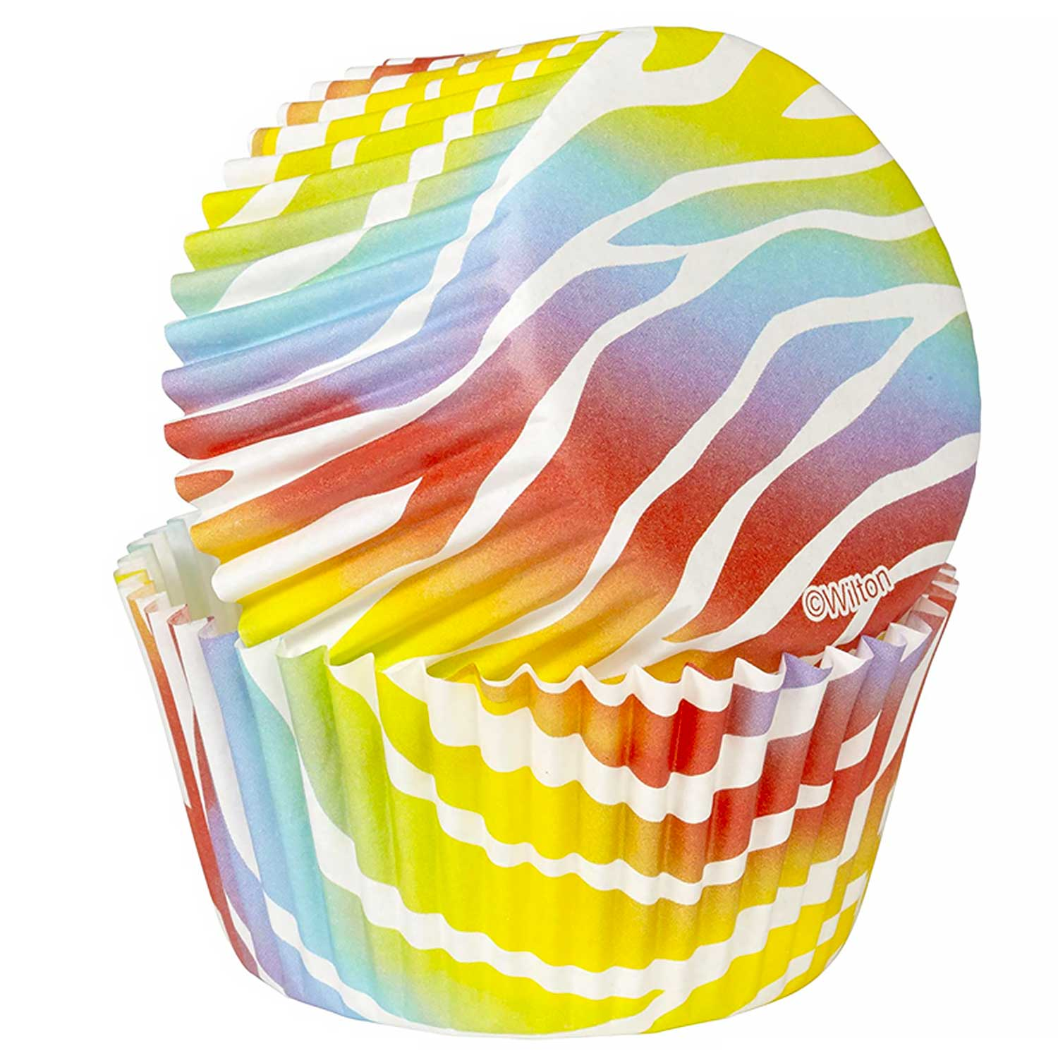 Zebra Bright Standard Baking Cups