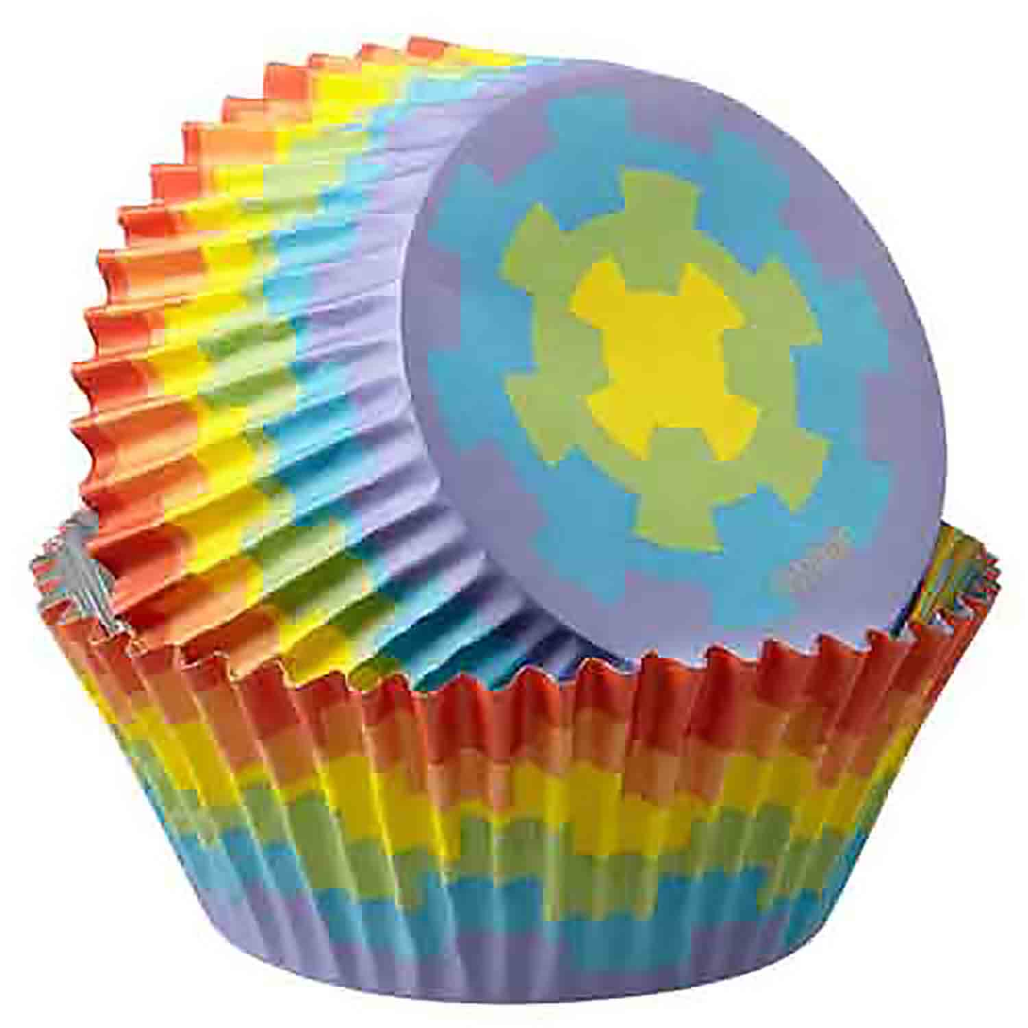 Digital Rainbow Standard Baking Cups