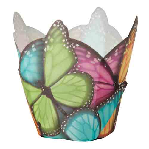 Multi Butterfly Standard Baking Cups