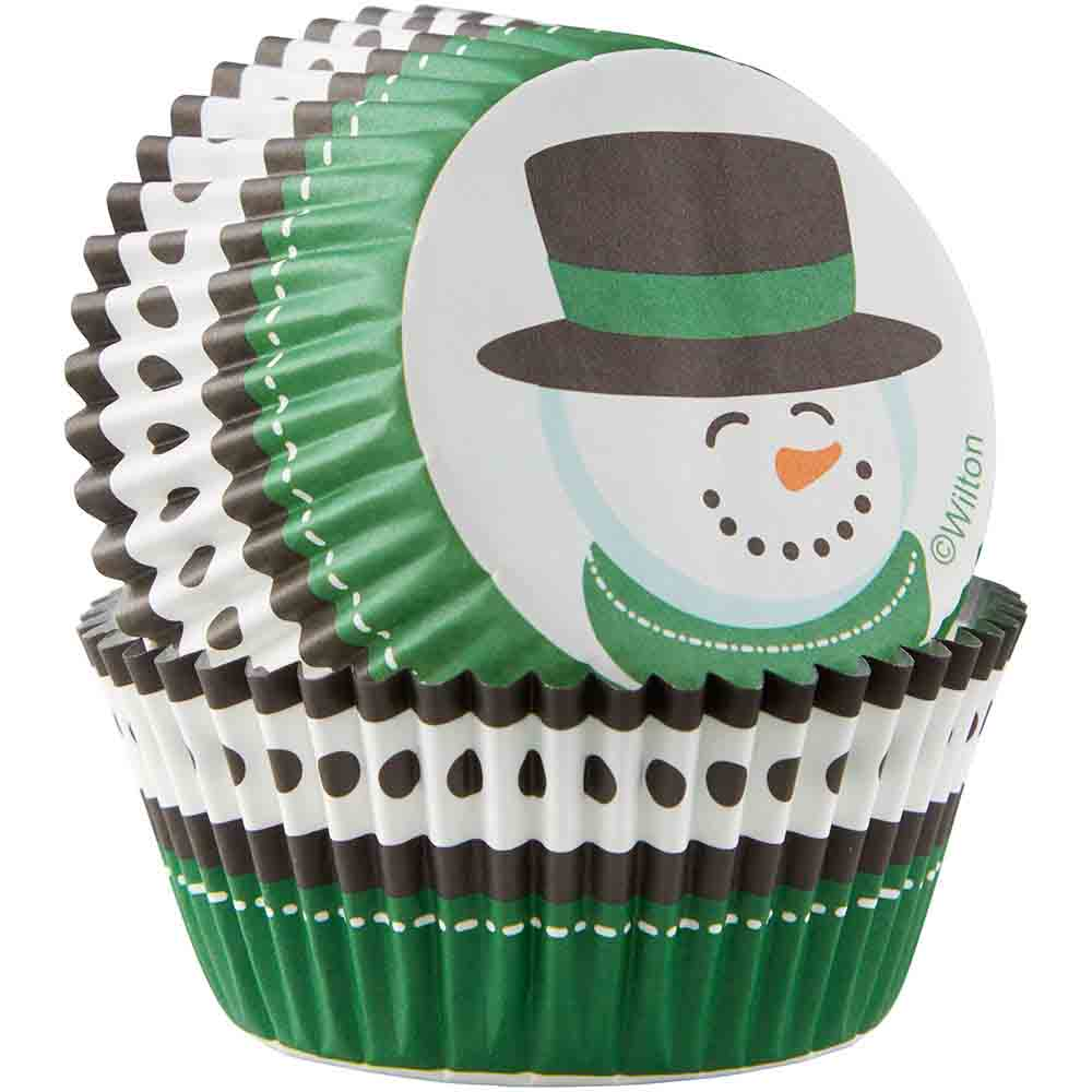 Winter Baking Cups and Cupcake Wraps