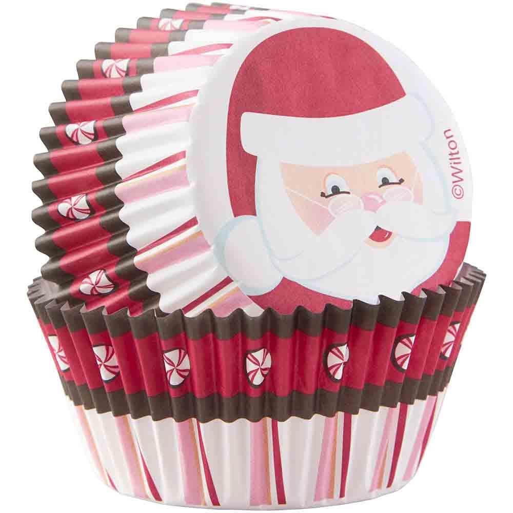 Santa Standard Baking Cups