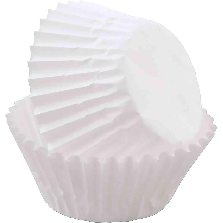 White Mini Baking Cups