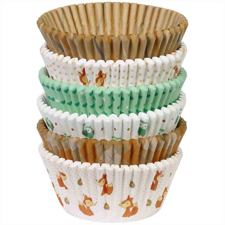 Woodland Animals Standard Baking Cups